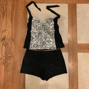 CATALINA swim 2 piece; Tankini and Swim Boyshorts